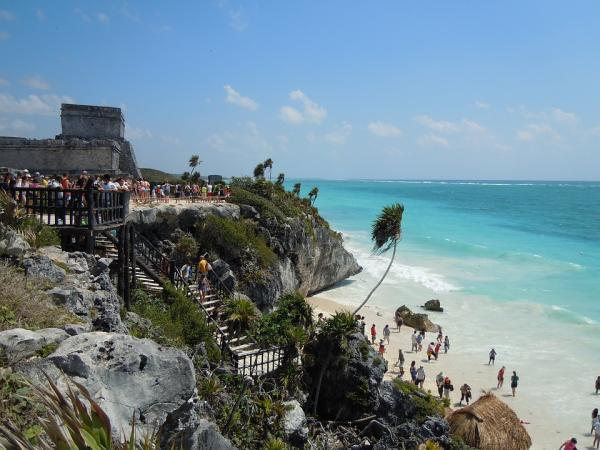 Los mejores sitios para viajar en pareja - El caribe mexicano, ideal para un viaje en pareja