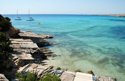 Las 6 playas más bonitas de Formentera - Cala Saona, otra de las playas más bonitas