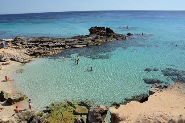 Las 6 playas más bonitas de Formentera - Es Caló, Formentera