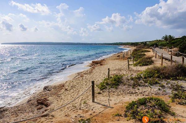Las 6 playas más bonitas de Formentera - Playa de Migjorn, otra de las mejores playas de Formentera