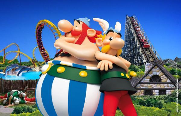 Mejores parques de atracciones de Europa - Parc Astérix (Francia)