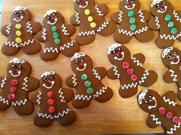 5 dulces típicos de Navidad en Inglaterra - Gingerbread Men