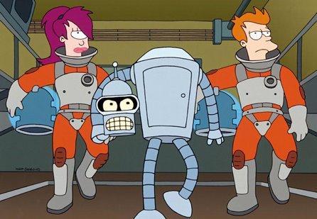 4 series que se parecen a Los Simpson - Futurama, otra serie del creador de Los Simpson