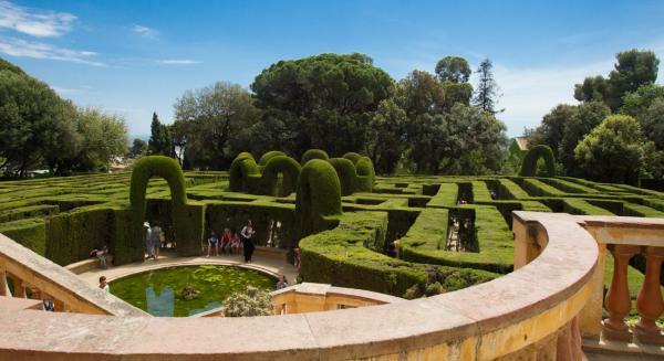 Los mejores sitios para hacer un picnic en Barcelona - Parque del Laberint d'Horta