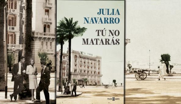 Los mejores libros para regalar en Navidad - Tú no matarás de Julia Navarro, uno de los libros para regalar en Navidad