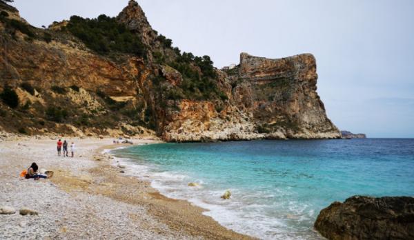 Playas bonitas en Alicante provincia - Cala del Moraig (Poble Nou de Benitachell)