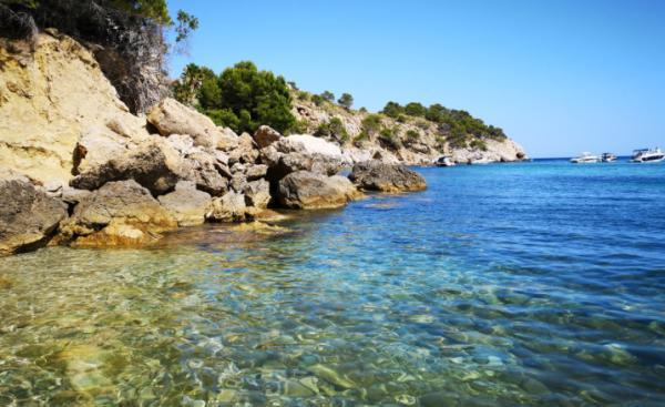 Playas bonitas en Alicante provincia - Playa Mascarat (Altea)