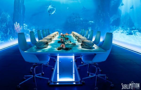 Cuáles son los restaurantes más caros del mundo - Sublimotion en Ibiza: el restaurante más caro del mundo