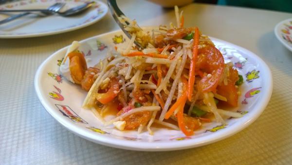 Qué se come en Tailandia - Som Tam, otro plato típico en Tailandia