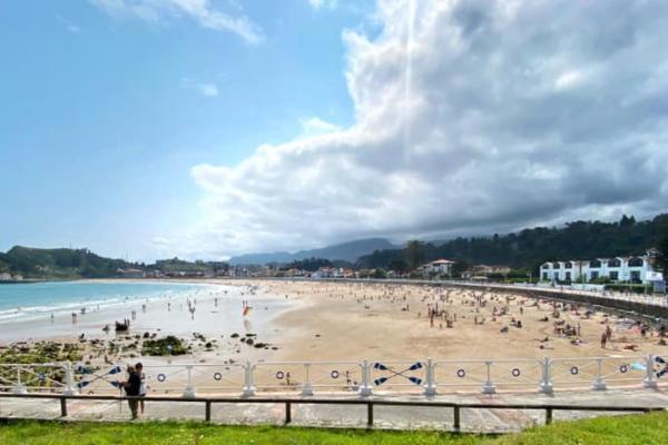 Playas para ir con perros en Asturias - La playa de Santa Marina y la playa de Vega, en Ribadesella
