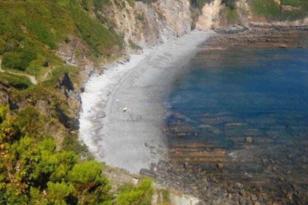 Playas para ir con perros en Asturias - Playa canina de Cambaredo,  El Franco