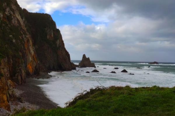Playas para ir con perros en Asturias - Playa de Quintana y Playa de Campiechos, en Valdés