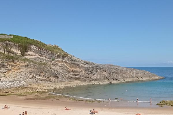 Playas para ir con perros en Asturias - Playa El Sablón, en Bayas, Castrillón