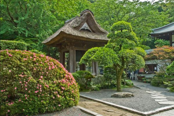 Templos budistas en Japón - Templo de Hokokuji de Kamakura, de los templos budistas japoneses más famosos
