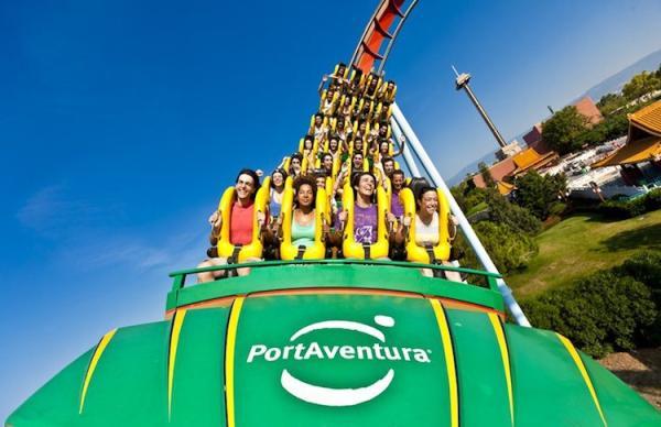 Los mejores parques de atracciones del mundo - Port Aventura (España)
