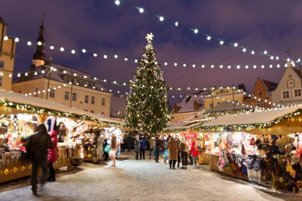 Los mejores mercadillos de Navidad de Europa - Mercado de Navidad en Tallín (Estonia)