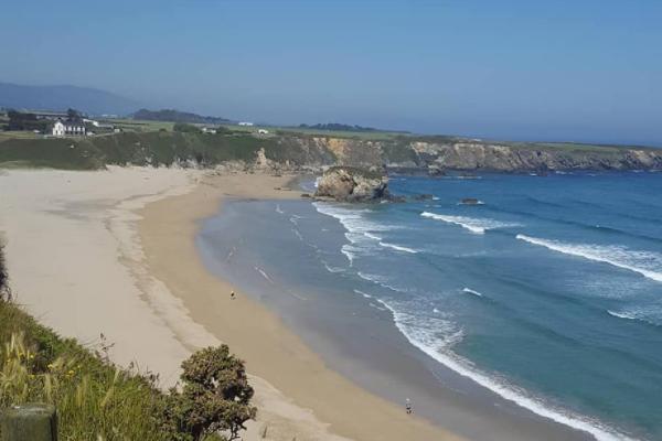Playas bonitas en Asturias - Playa de Peñarronda (Tapia de Casariego)