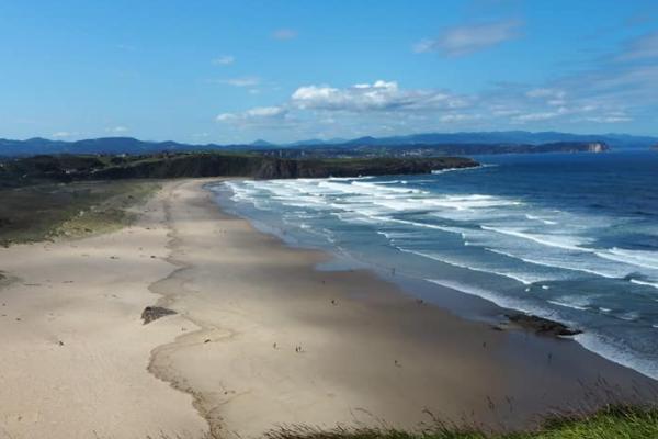 Playas bonitas en Asturias - Playa de Xagó (Gozón)