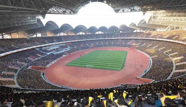 Los 8 estadios de fútbol más grandes del mundo - Reungrado Primero de Mayo, el estadio más grande del mundo
