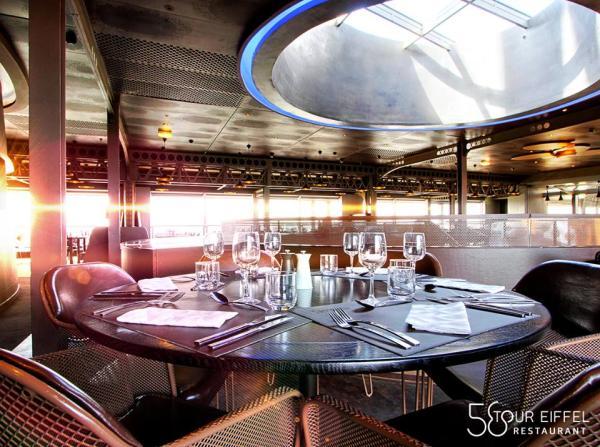 Restaurantes con vista a la torre Eiffel - 58 Tour Eiffel Restaurant