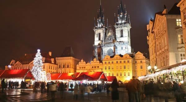 Los 5 mejores mercadillos de navidad en Praga - Mercadillo de la Plaza Tylovo