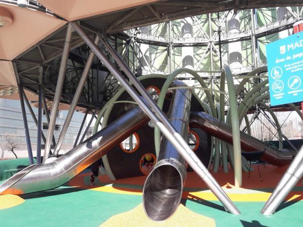 Los mejores parques infantiles en Madrid - Parque del Nautilus