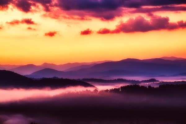 Los mejoresparques nacionales de Estados Unidos - 2. Parque Nacional Great Smoky Mountains o de las Montañas Humeantes