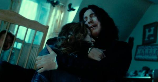 10 fallos en las películas de Harry Potter - El error en la historia de Snape