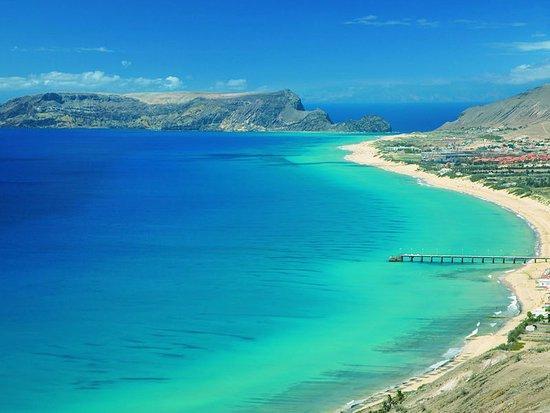 Playas paradisíacas de Portugal - La playa de Porto Santo, Madeira, otra de las playas más bonitas de Portugal