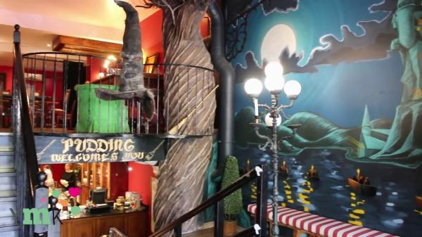 7 sitios de Harry Potter en Barcelona - Pudding Barcelona, Harry Potter en una cafetería