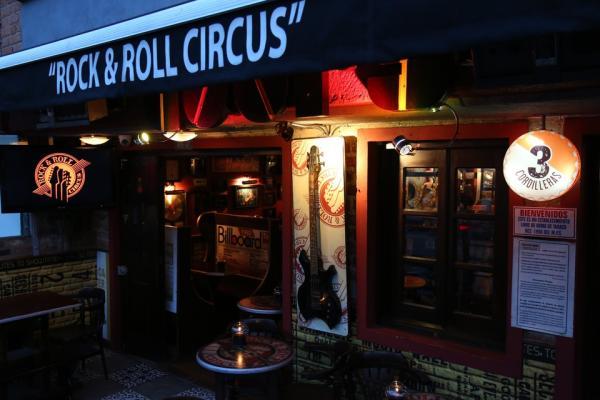 Restaurantes temáticos en Bogotá - Rock&Roll Circus Colombia, para los amantes del rock