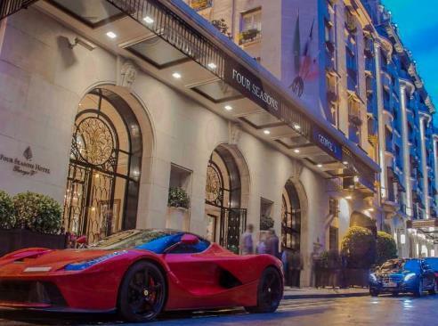 Los hoteles más caros del mundo - Four Season Hotel George V