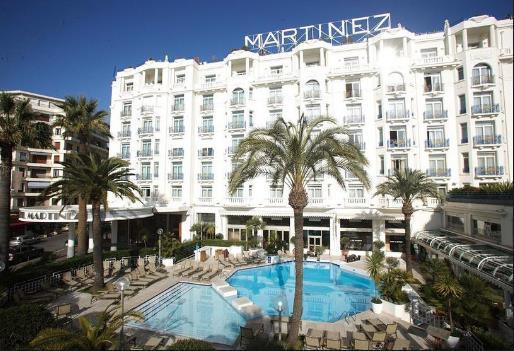 Los hoteles más caros del mundo - Grand Hyatt Cannes Hôtel Martinez – Cannes, Francia