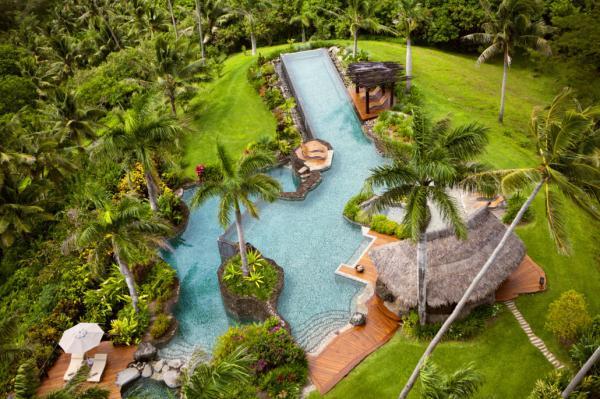 Los hoteles más caros del mundo - Hilltop Estate – Laucala Island, Fiji