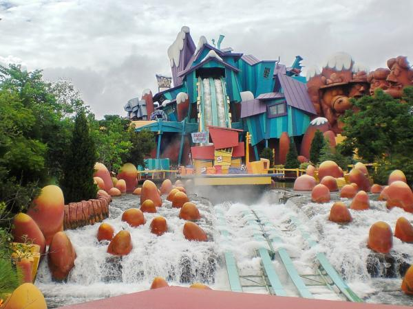 Los mejores parques de Orlando, Florida - Universal Island of Adventures, un parque de atracciones de Orlando