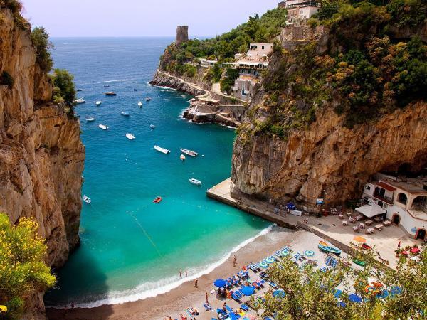 Playas paradisíacas en Italia - Playa de Gavitella (Salerno, Campania)