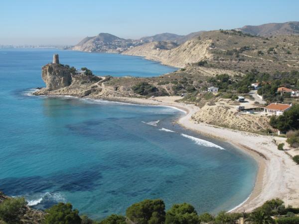 Playas para perros en Alicante - Cala del Xarco ( Villajoyosa)