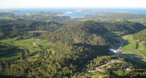 Dónde ver el mejor atardecer en Menorca - Monte Toro, ideal para un atardecer en Menorca de ensueño