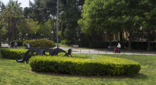 Parques para perros en Barcelona - Parque de la Guineueta