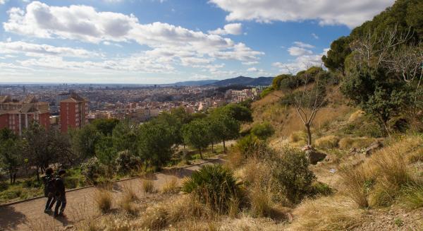Parques para perros en Barcelona - Parque del Guinardó