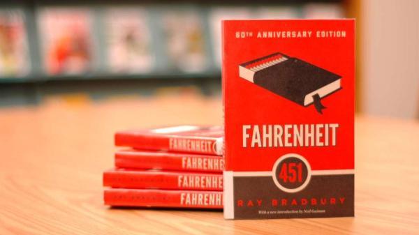 Libros de ciencia ficción recomendados - Fahrenheit 451, Ray Bradbury