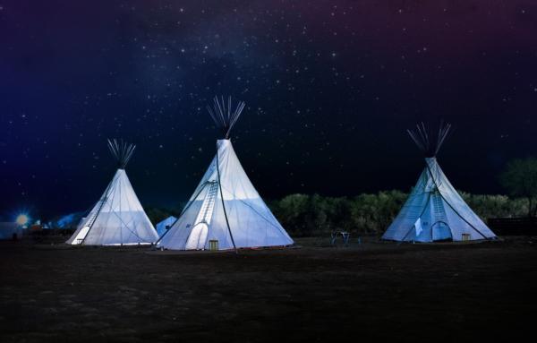 Ideas para fiestas de cumpleaños originales para adolescentes - Ir de campamento