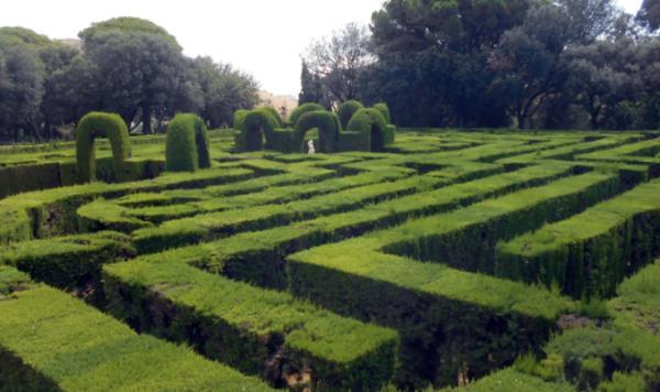 Sitios para hacer fotos en Barcelona - El Laberint d'Horta