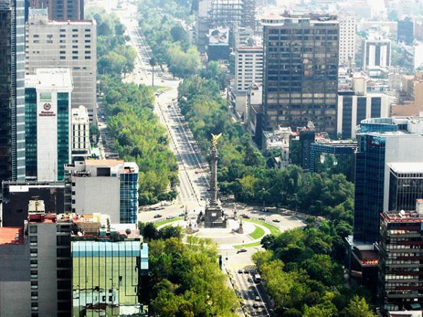 Qué hacer en la ciudad de México - 5. Visita el paseo de la Reforma