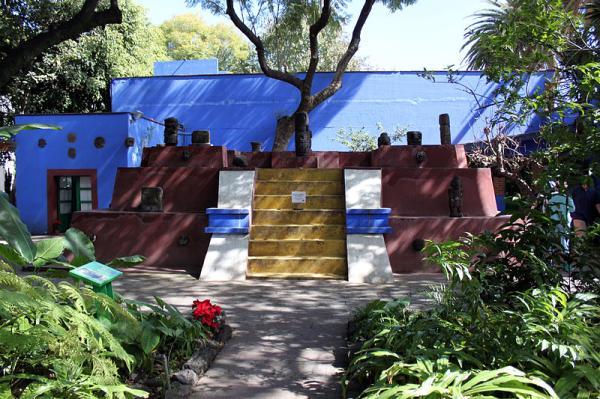 Qué hacer en la ciudad de México - 6. Visitar la Casa Azul de Frida Khalo y Diego Rivera