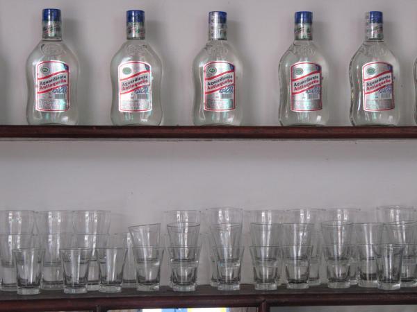 Bebidas típicas de Colombia - Aguardiente