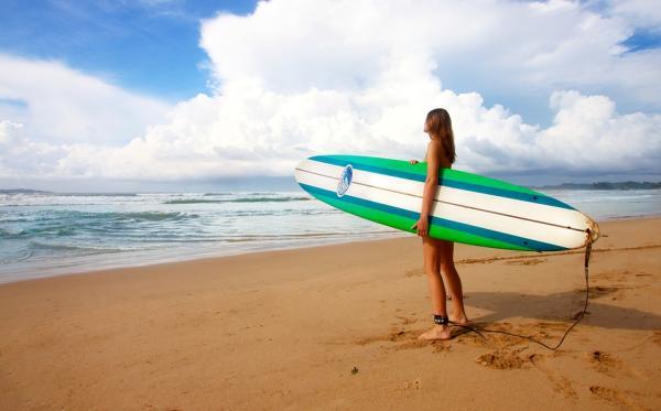 Sitios para hacer surf en Valencia - Playa del Júcar, hacer surf en Cullera