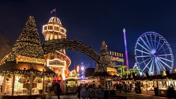 Qué hacer en navidad en Londres - Visita Winter Wonderland en Hyde Park