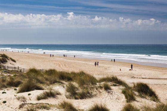 Dónde ver el mejor atardecer en Cádiz - Playa de la Barrosa y sus atardeceres llenos de encanto