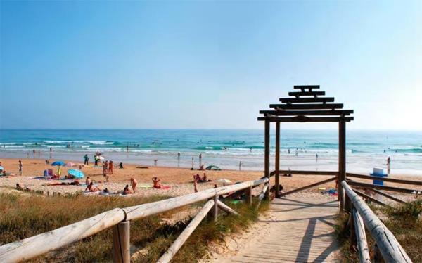 Dónde ver el mejor atardecer en Cádiz - Playa El Palmar, ideal para los atardeceres gaditanos